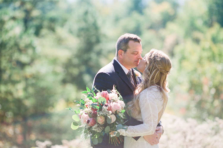 Smoky Mountain Wedding Photographer capturing fall in the mountains